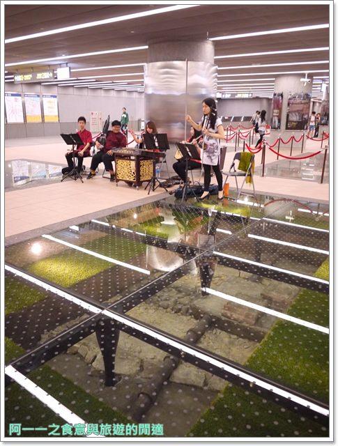 捷運松山線北門站台北博物館古蹟清代遺跡image033