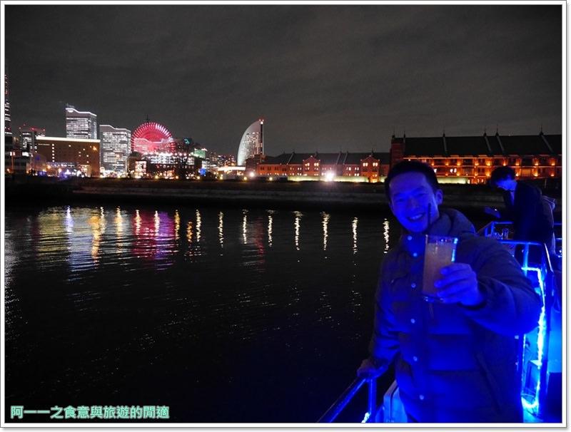 橫濱港夜景.veltra.東京旅遊.觀光船.日劇.浪漫image027