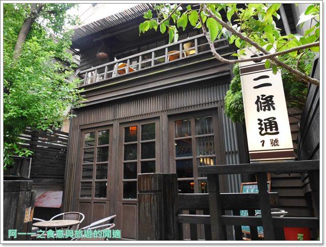 中山二條通.綠島小夜曲.台北車站美食.下午茶.老宅.咖啡館.帕尼尼image003