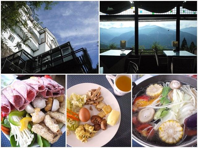[廣宣]南投清境 嵐山小鎮 餐點篇~透明景觀餐廳悠閒享受
