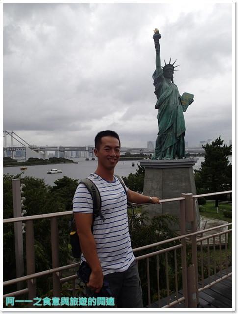 東京景點御台場海濱公園自由女神像彩虹橋水上巴士image033