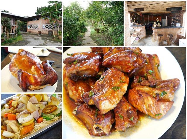 北海岸三芝美食 牧蜂農莊-生態農場 蜂蜜烤雞/豬肋排/水筆仔蜜~在大自然下享受蜂蜜大餐