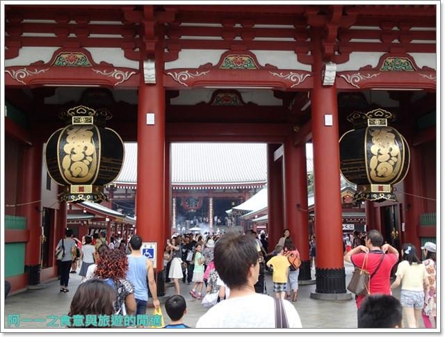 日本東京自助旅遊淺草雷門仲見世街image053