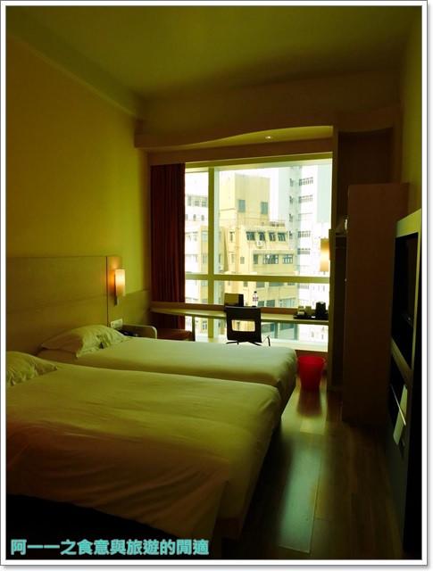 香港旅遊住宿飯店宜必思ibis中上環酒店機場快線image028