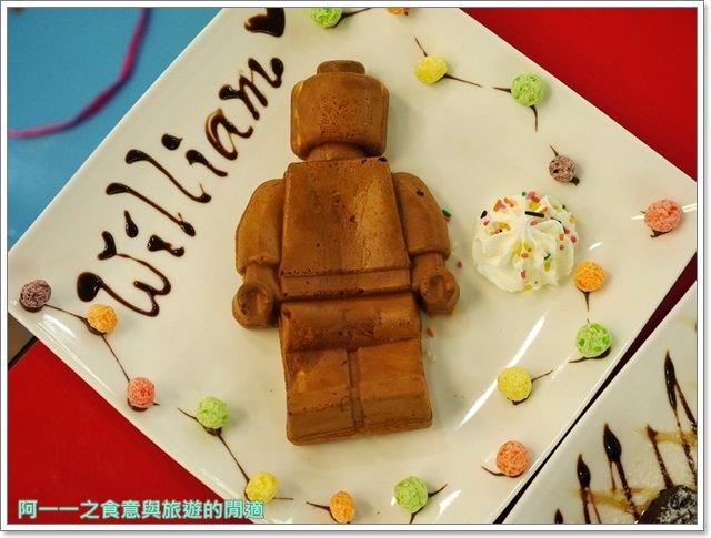 樂高積木主題餐廳中和環球lego親子甜點披薩image035