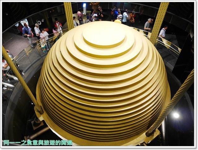 捷運台北101景點89樓觀景台阻尼器摩天大樓image057