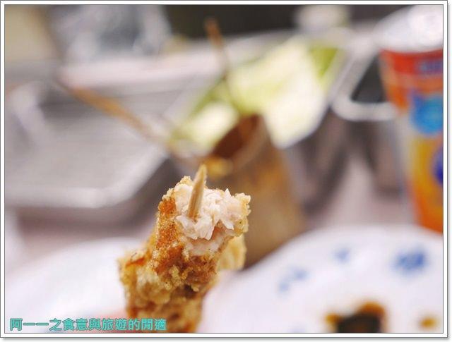 大阪通天閣美食.八重勝炸串.醬汁.小吃.新世界image025