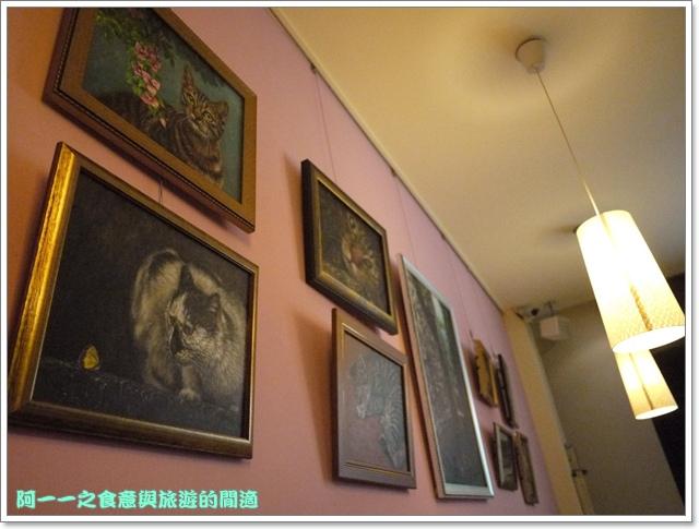 台中貓餐廳立體貓拉花貓旅行咖啡輕食館image013