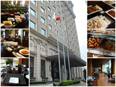 台北 美麗信花園酒店 青庭花園餐廳 (上)~給你賓至如歸的感受