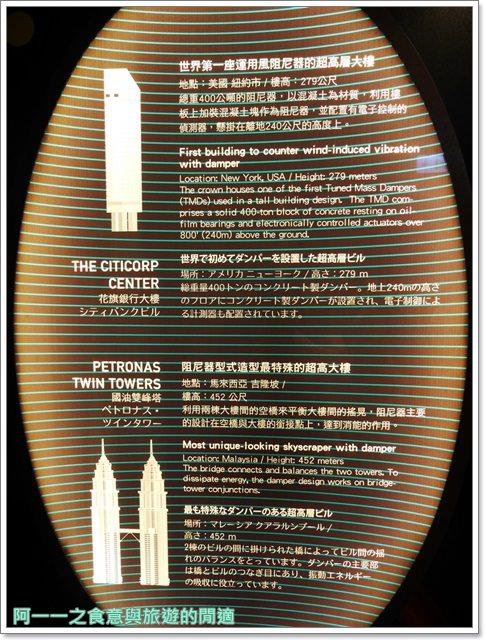 捷運台北101景點89樓觀景台阻尼器摩天大樓image061