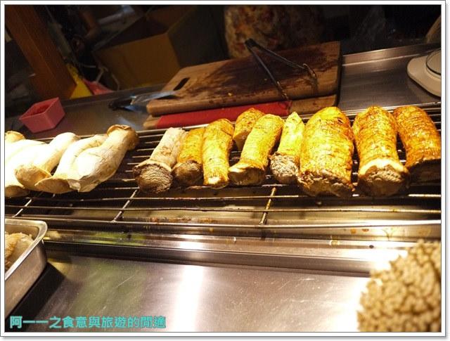 士林夜市美食小吃干貝燒丁香旗魚串爆漿杏鮑菇image017