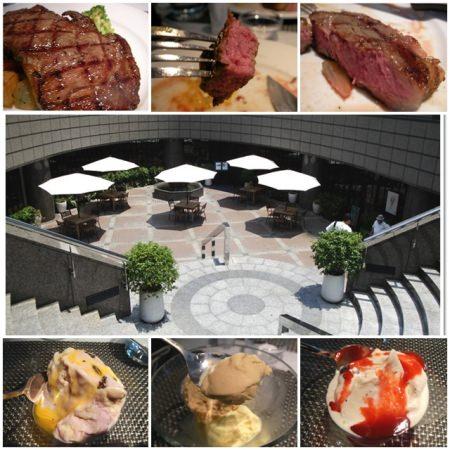台北士林 Market Cafe 味.集廚房 牛排日~超鮮嫩,冰淇淋超清爽的