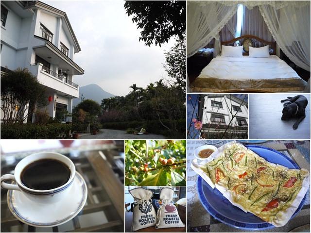 南投埔里 闕麒景觀民宿 來杯自己種的咖啡~阿一一清境農場櫻花之旅
