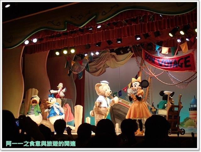 東京迪士尼海洋美食duffy達菲熊午餐秀gelatoniimage052