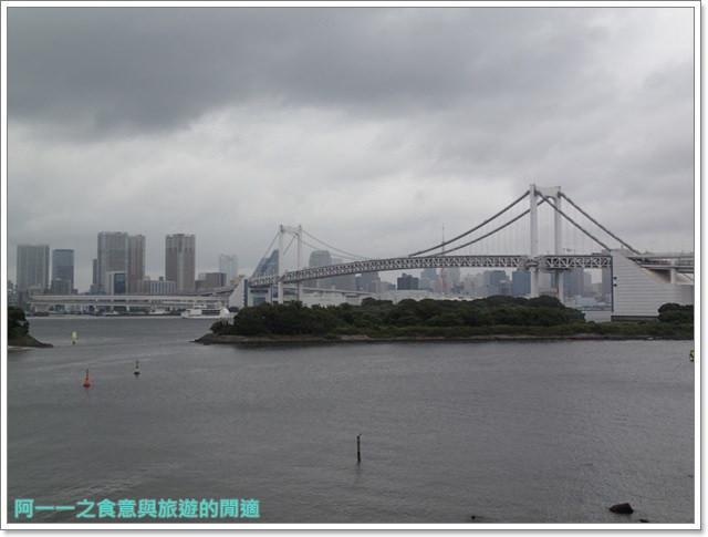 東京景點御台場海濱公園自由女神像彩虹橋水上巴士image018