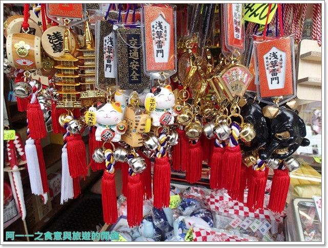 日本東京自助旅遊淺草雷門仲見世街image046