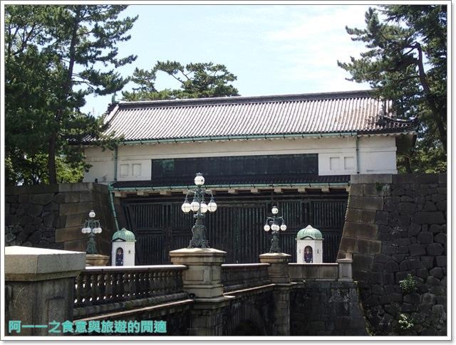 日本東京旅遊自助皇居外苑二重橋櫻田門和田倉噴水公園image029