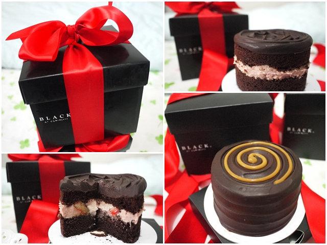 台北車站 Black As Chocolate~貴桑桑香蕉焦糖&黑嘉倫草莓巧克力蛋糕