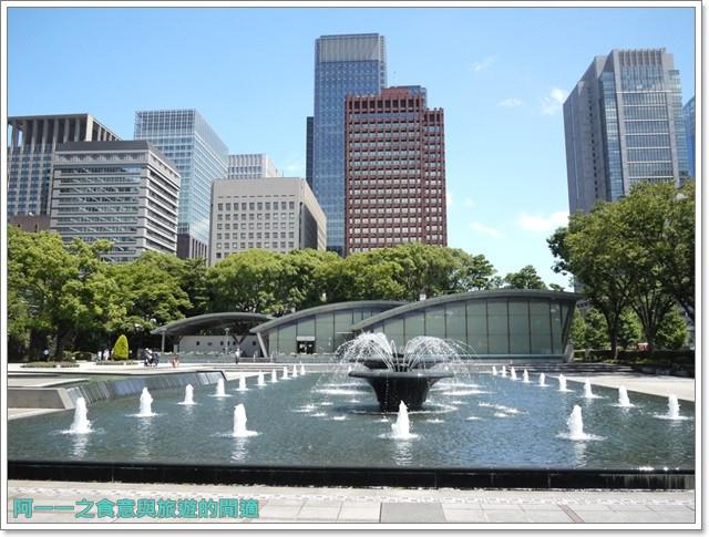 日本東京旅遊自助皇居外苑二重橋櫻田門和田倉噴水公園image051