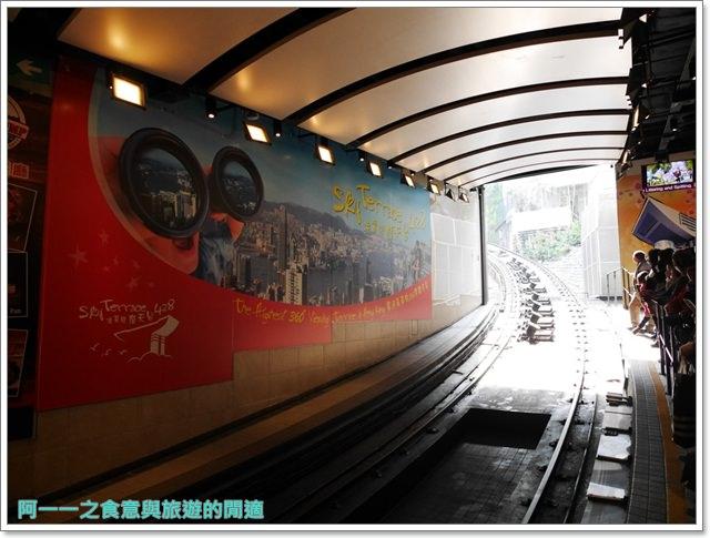 香港旅遊太平山夜景山頂纜車聖約翰座堂凌霄閣摩天台山頂廣場image037