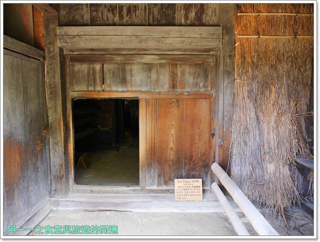 大阪親子景點.日本民家集落博物館.服步綠地.古蹟.老屋image048