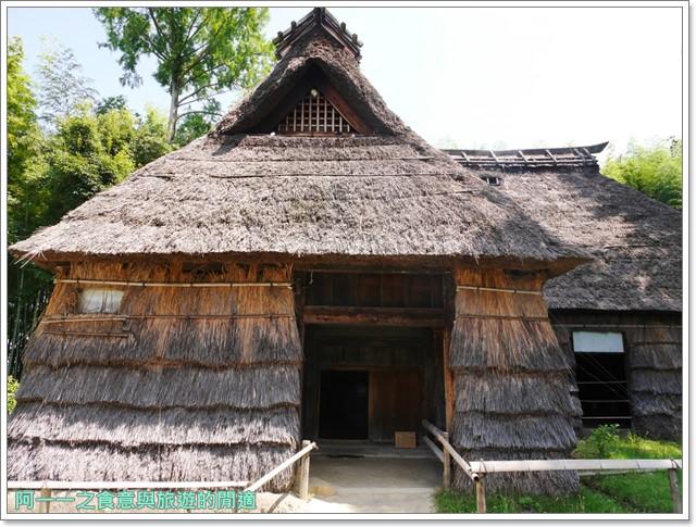 大阪親子景點.日本民家集落博物館.服步綠地.古蹟.老屋image047