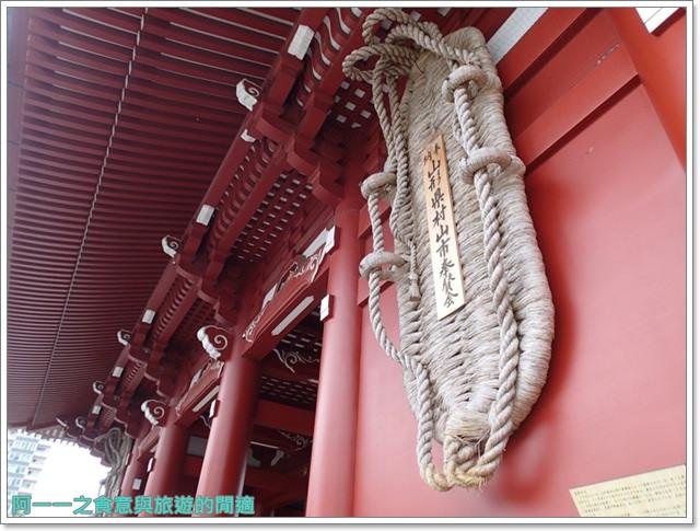 日本東京自助旅遊淺草雷門仲見世街image055