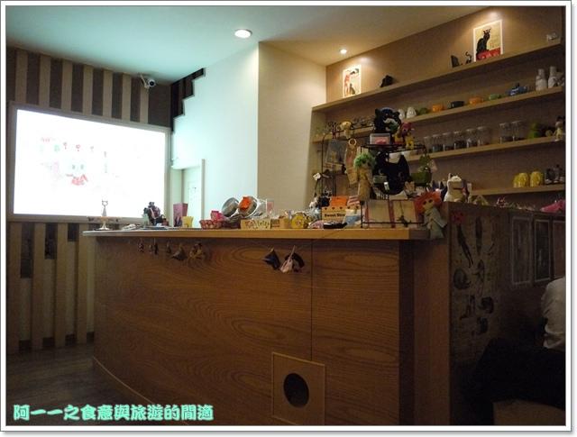 台中貓餐廳立體貓拉花貓旅行咖啡輕食館image015