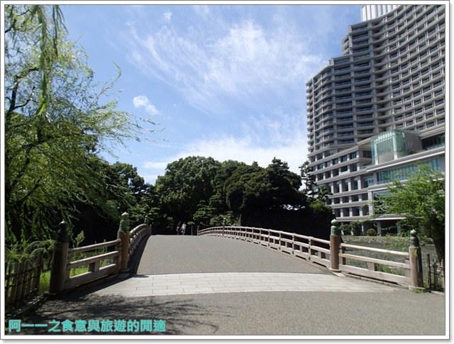 日本東京旅遊自助皇居外苑二重橋櫻田門和田倉噴水公園image063