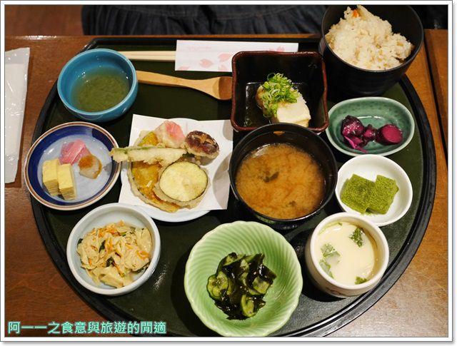 京都大丸百貨美食.手創館.さくら茶屋.湯葉.豆腐料理image001