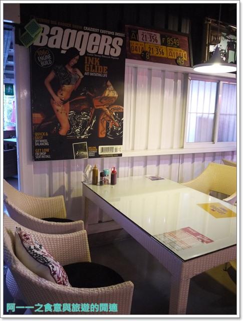 三芝美食美式料理漢堡鐵皮屋餐坊重機主題餐廳聚餐image011
