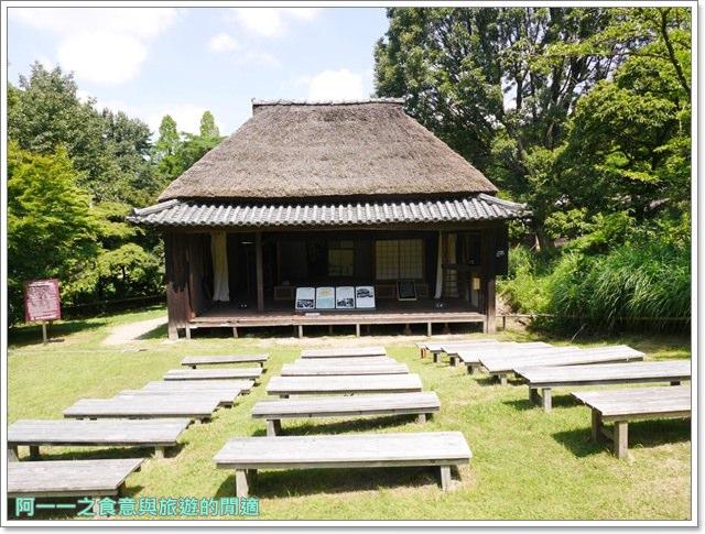 大阪親子景點.日本民家集落博物館.服步綠地.古蹟.老屋image051