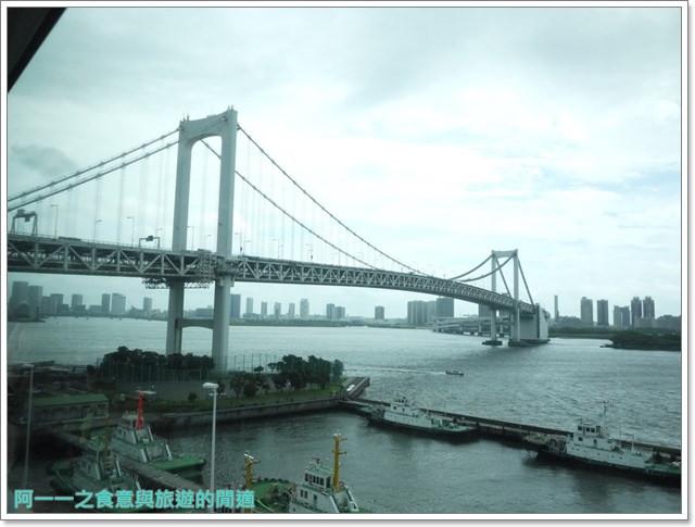 東京景點御台場海濱公園自由女神像彩虹橋水上巴士image006