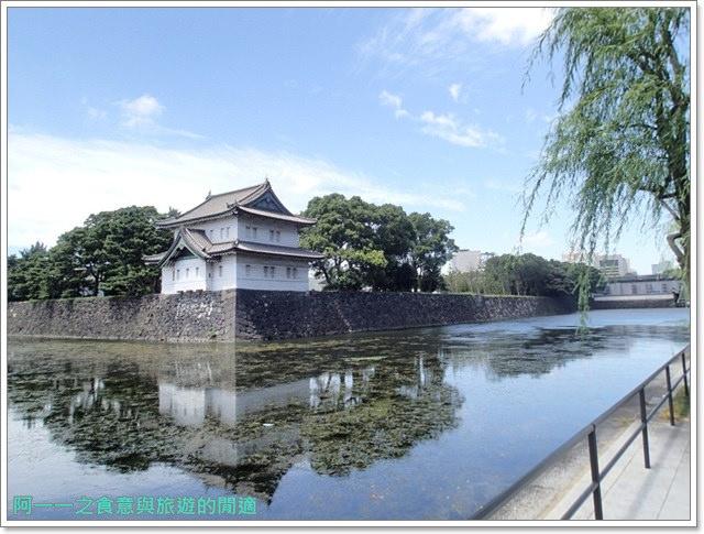 日本東京旅遊自助皇居外苑二重橋櫻田門和田倉噴水公園image039