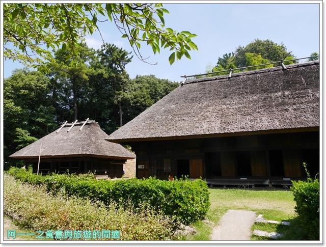 大阪親子景點.日本民家集落博物館.服步綠地.古蹟.老屋image035