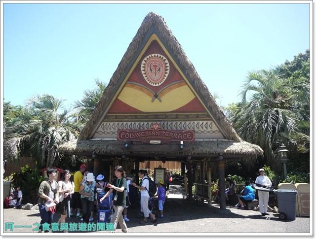 東京迪士尼樂園美食午餐秀煙燻火雞腿波里尼西亞草壇餐廳image010