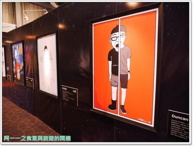 2016星球上的大小事.插畫家創作聯展. 一拳超人.高雄左營新光三越image024