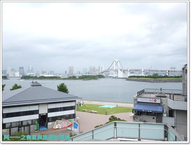 東京景點御台場海濱公園自由女神像彩虹橋水上巴士image009