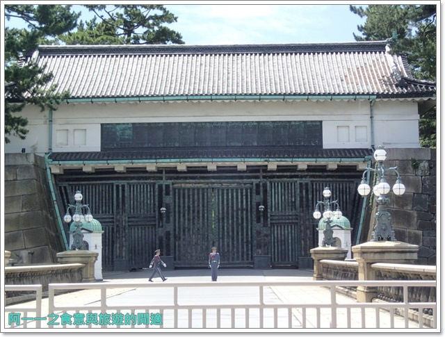 日本東京旅遊自助皇居外苑二重橋櫻田門和田倉噴水公園image031