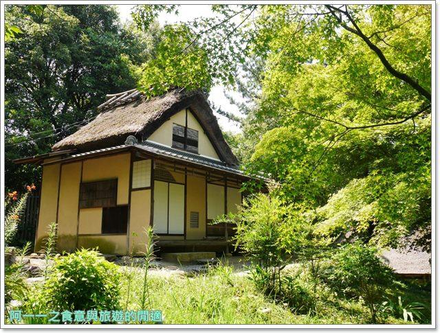 大阪親子景點.日本民家集落博物館.服步綠地.古蹟.老屋image055