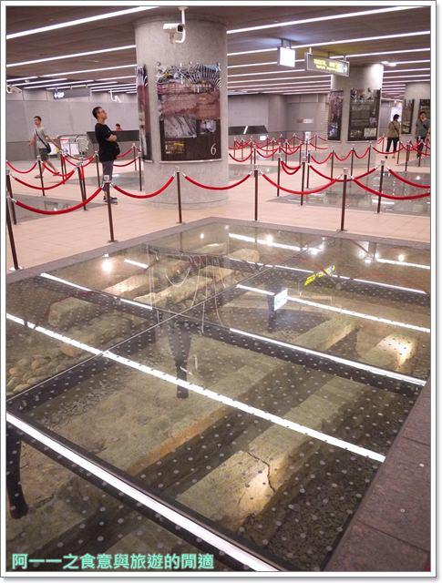 捷運松山線北門站台北博物館古蹟清代遺跡image018