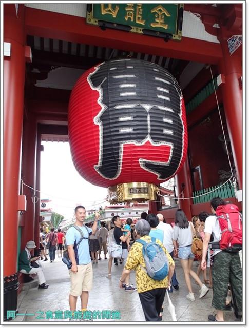 日本東京自助旅遊淺草雷門仲見世街image035