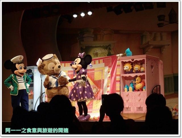 東京迪士尼海洋美食duffy達菲熊午餐秀gelatoniimage054