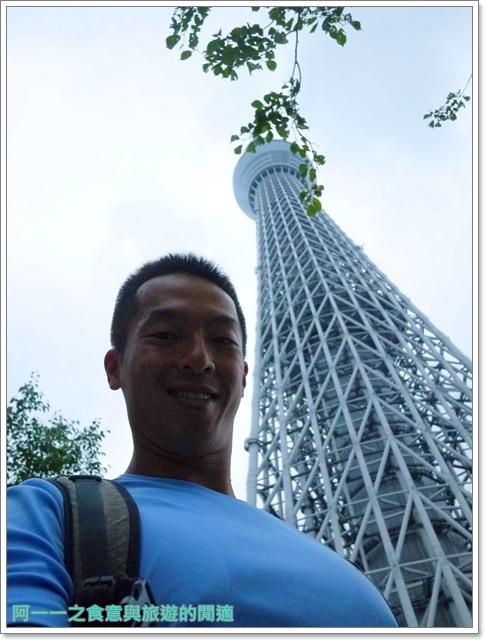 晴空塔天空樹日本東京自助旅遊淺草吾妻橋image039