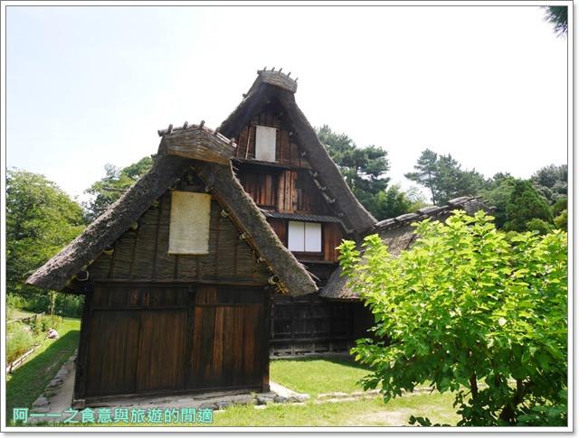 大阪親子景點.日本民家集落博物館.服步綠地.古蹟.老屋image001
