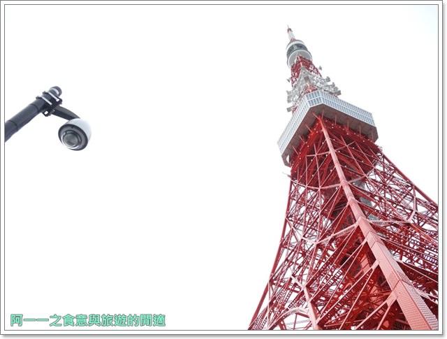 日本東京旅遊東京鐵塔芝公園夕陽tokyo towerimage003