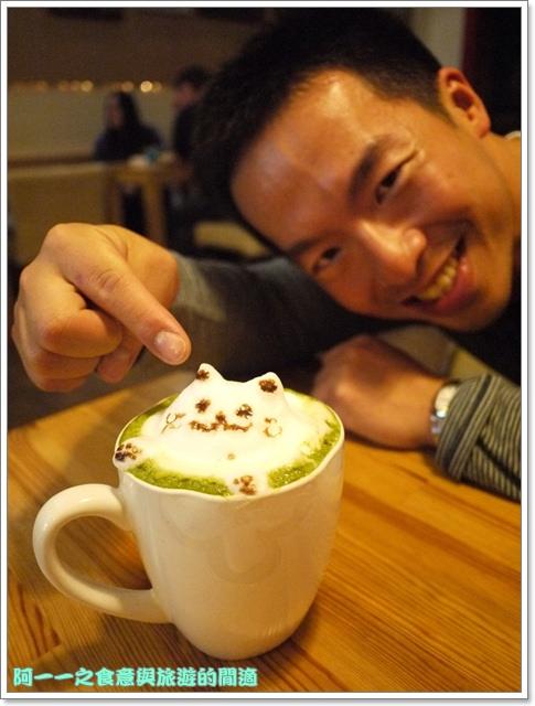 台中貓餐廳立體貓拉花貓旅行咖啡輕食館image061