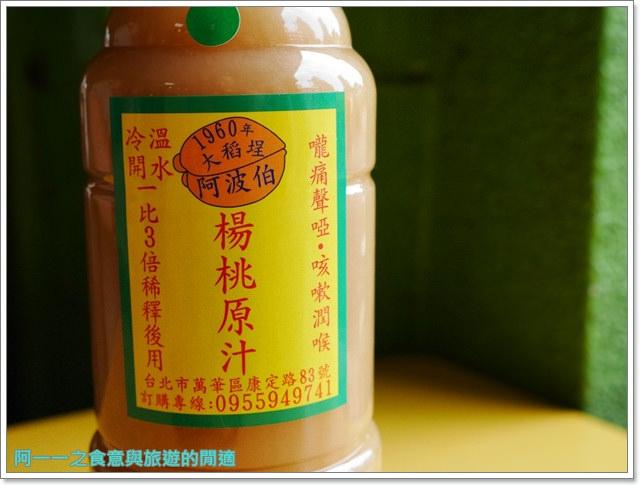 西門町美食小吃施福建好吃雞肉楊桃冰阿波伯冬仙堂楊桃汁飲料老店image027