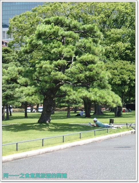 日本東京旅遊自助皇居外苑二重橋櫻田門和田倉噴水公園image043