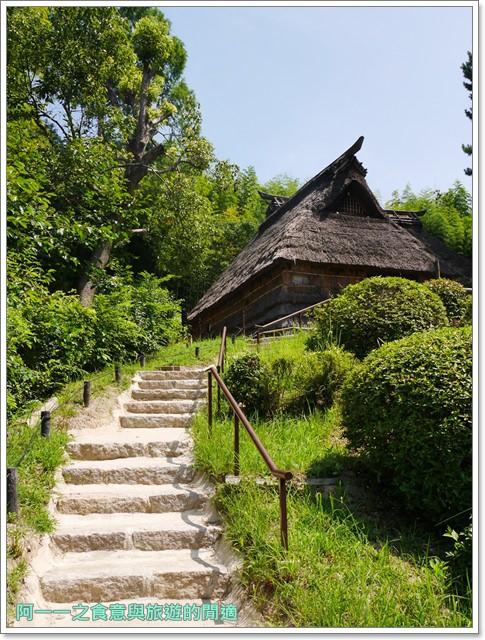 大阪親子景點.日本民家集落博物館.服步綠地.古蹟.老屋image045